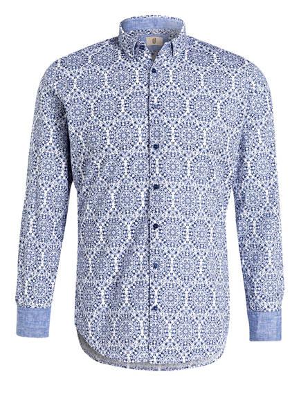 Q1 Manufaktur Hemd Slim Fit, Farbe: BLAU/ WEISS (Bild 1)