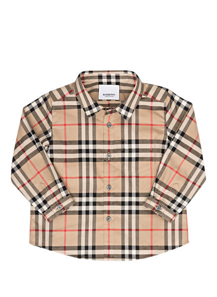 BURBERRY Hemd, Farbe: BEIGE (Bild 1)