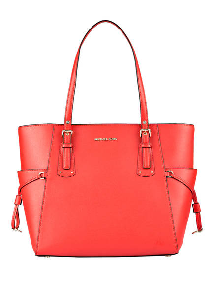 MICHAEL KORS Saffiano-Shopper VOYAGER MEDIUM, Farbe: SEA CORAL (Bild 1)