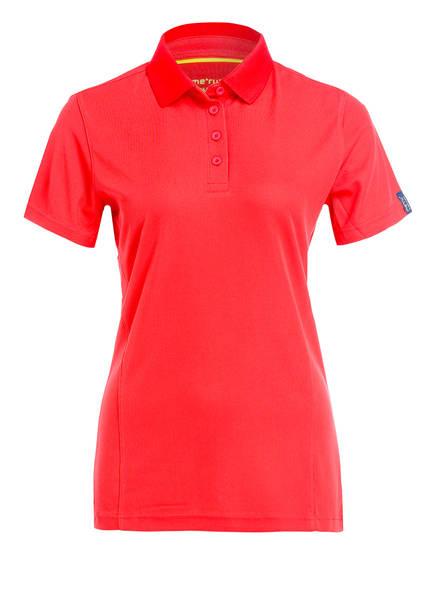 me°ru' Poloshirt WEMBLEY, Farbe: HELLROT (Bild 1)