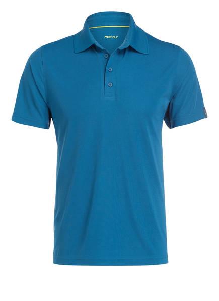 me°ru' Funktions-Poloshirt WEMBLEY, Farbe: PETROL (Bild 1)