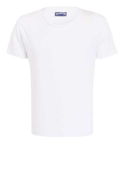 VILEBREQUIN Leinenshirt TIRAMISU , Farbe: WEISS (Bild 1)