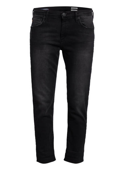 TRUE RELIGION Cropped Jeans NEW LIV, Farbe: 1001 BLACK (Bild 1)