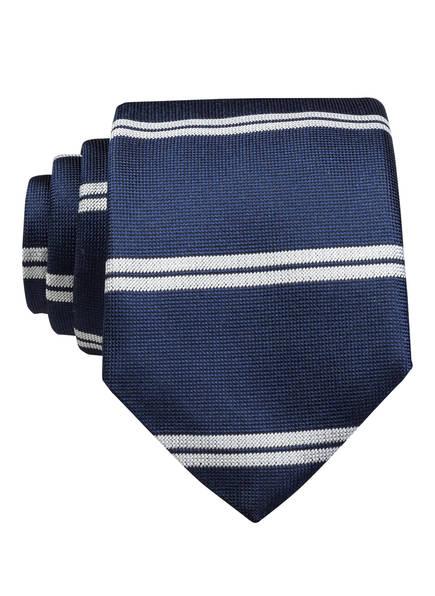 BOSS Krawatte, Farbe: DUNKELBLAU/ HELLGRAU (Bild 1)