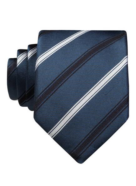 BOSS Krawatte, Farbe: PETROL/ SCHWARZ/ WEISS (Bild 1)
