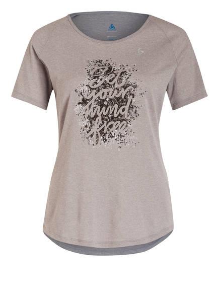 odlo T-Shirt MILLENNIUM, Farbe: GRAU MELIERT (Bild 1)