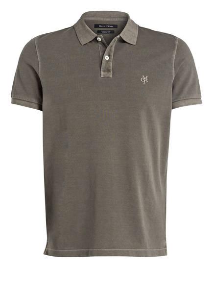 Marc O'Polo Piqué-Poloshirt Regular Fit, Farbe: OLIV (Bild 1)