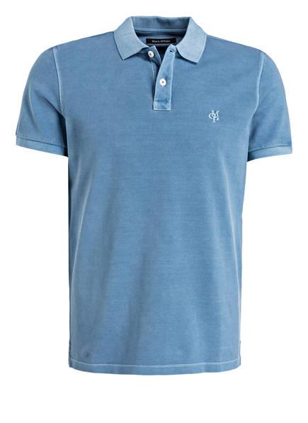 Marc O'Polo Piqué-Poloshirt Regular Fit, Farbe: HELLBLAU (Bild 1)