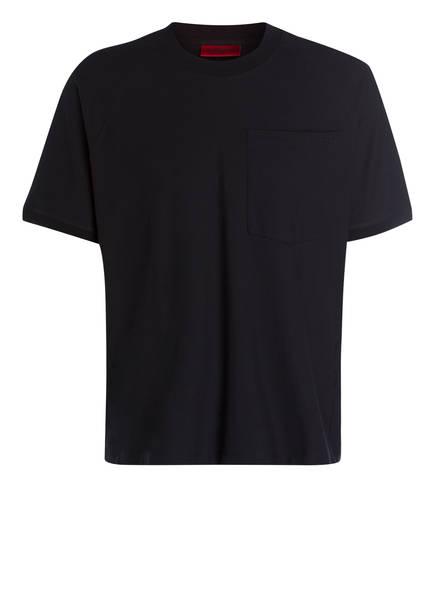 HUGO T-Shirt DAPRIZ, Farbe: SCHWARZ (Bild 1)