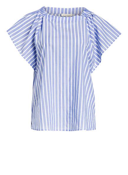 208d21de00 ETERNA Blusenshirt, Farbe BLAU/ WEISS (Bild 1)