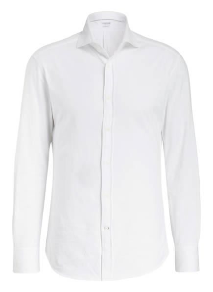 BRUNELLO CUCINELLI Jerseyhemd Slim Fit, Farbe: WEISS (Bild 1)