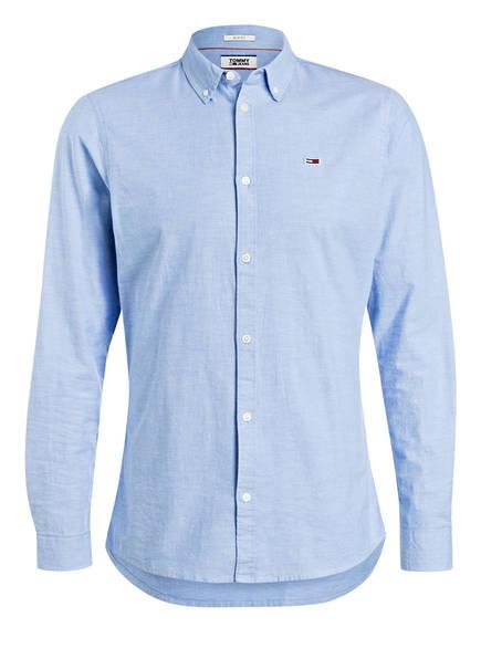 TOMMY JEANS Hemd Slim Fit, Farbe: HELLBLAU (Bild 1)