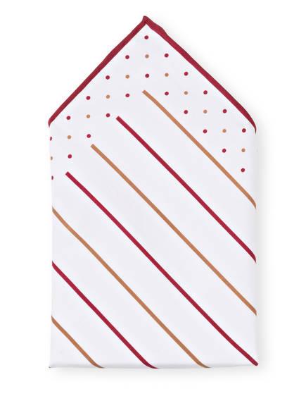 BRUNELLO CUCINELLI Einstecktuch, Farbe: CAMEL/ BORDEAUX (Bild 1)