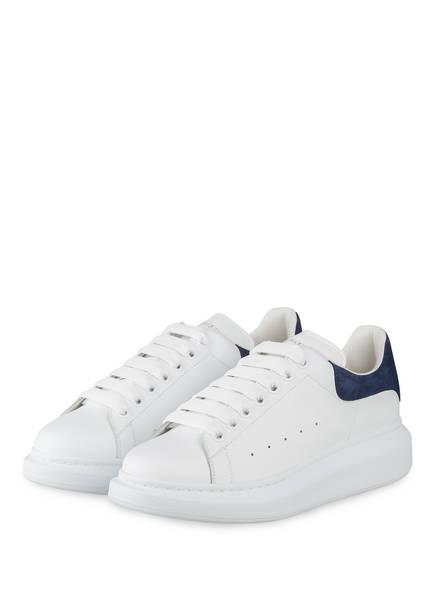 ALEXANDER McQUEEN Plateau-Sneaker, Farbe: WEISS/ BLAU (Bild 1)