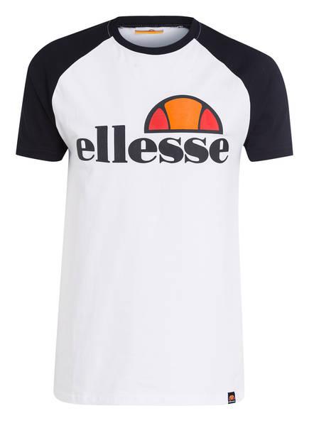 ellesse T-Shirt CASSINA, Farbe: WEISS / SCHWARZ (Bild 1)
