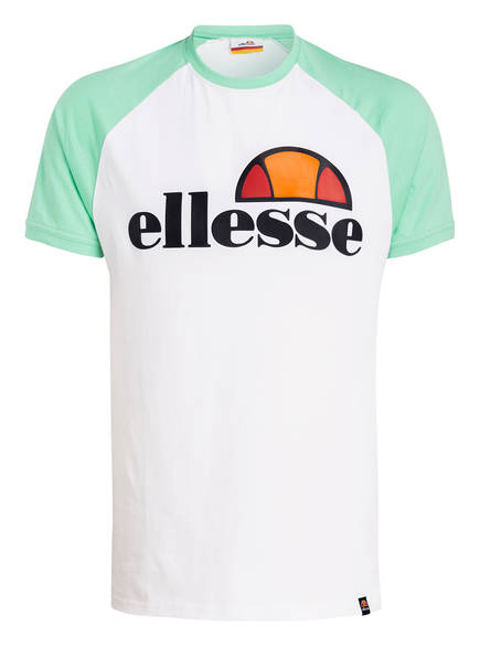 ellesse T-Shirt CASSINA, Farbe: WEISS / GRÜN (Bild 1)