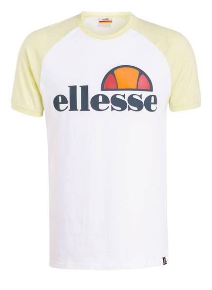 ellesse T-Shirt CASSINA, Farbe: WEISS / GELB (Bild 1)