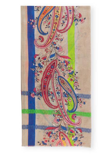 DARLING HARBOUR Schal, Farbe: BEIGE/ GELB/ BLAU (Bild 1)