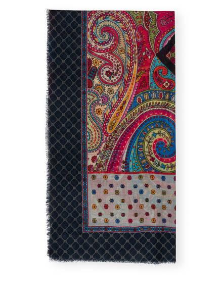 DARLING HARBOUR Tuch , Farbe: GRAU/ DUNKELBLAU/ ROT (Bild 1)