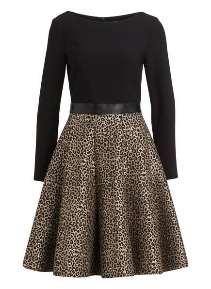 BARBARA SCHWARZER Kleid , Farbe: SCHWARZ/ GOLD (Bild 1)