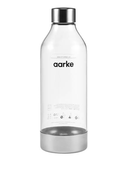 aarke Trinkflasche AA02, Farbe: TRANSPARENT/ SILBER (Bild 1)