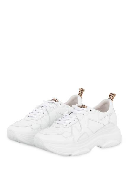 KENNEL & SCHMENGER Sneaker CALF LEO, Farbe: WEISS (Bild 1)