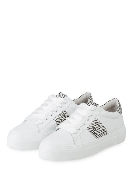 KENNEL & SCHMENGER Plateau-Sneaker BIG, Farbe: WEISS/ SCHWARZ (Bild 1)