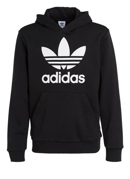 adidas Originals Hoodie TREFOIL, Farbe: BLACK/WHITE (Bild 1)