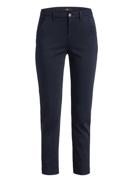7 for all mankind 7/8-Chino , Farbe: NAVY (Bild 1)
