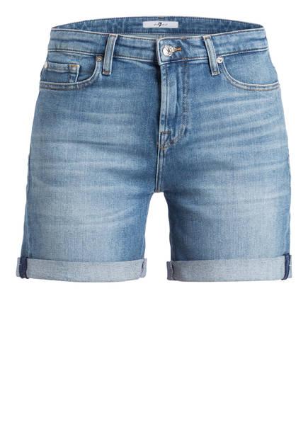 7 for all mankind Jeans-Shorts, Farbe: BLAU (Bild 1)