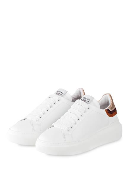 MÉLINÉ Plateau-Sneaker, Farbe: WEISS (Bild 1)