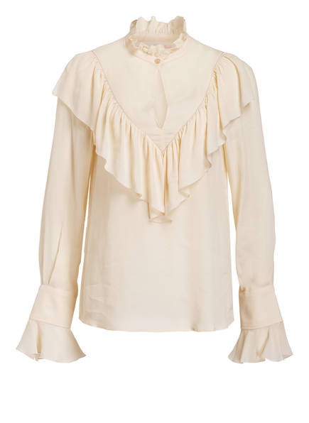 SEE BY CHLOÉ Bluse mit Seidenanteil , Farbe: ECRU (Bild 1)