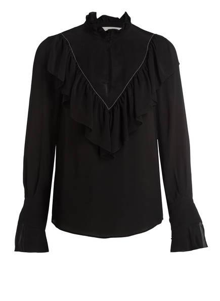 SEE BY CHLOÉ Bluse mit Seidenanteil , Farbe: SCHWARZ (Bild 1)