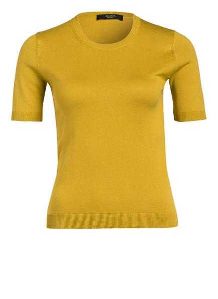 WEEKEND MaxMara Feinstrick-Pullover, Farbe: DUNKELGELB (Bild 1)