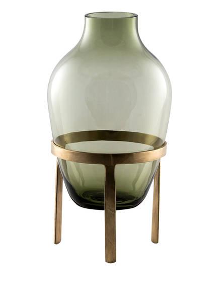 Nordstjerne Vase ADORN , Farbe: GRÜN/ GOLD (Bild 1)