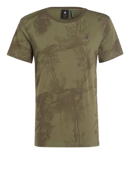 G-Star RAW T-Shirt MONS, Farbe: OLIV GEMUSTERT (Bild 1)