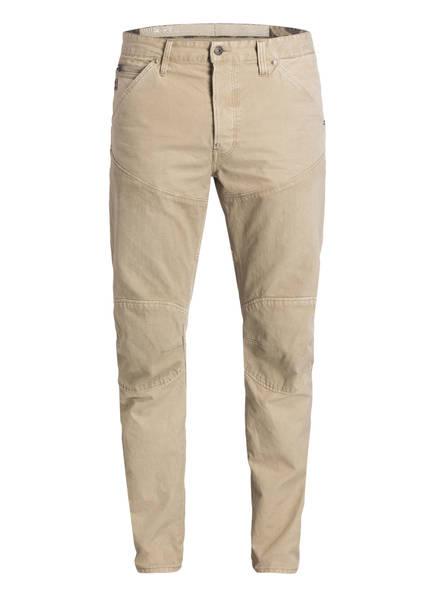 G-Star RAW Jeans ELWOOD Straight Tapered Fit, Farbe: BEIGE (Bild 1)