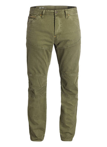 G-Star RAW Jeans ELWOOD Straight Tapered Fit, Farbe: OLIV (Bild 1)