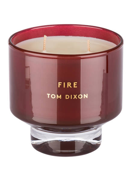 Tom Dixon Duftkerze FIRE MEDIUM, Farbe: ROT (Bild 1)