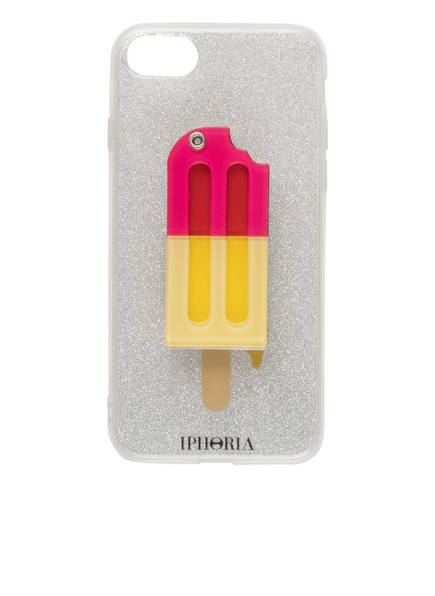 IPHORIA iPhone-Hülle YELLOW PINK ICED-LOLLY , Farbe: TRANSPARENT/ SILBER (Bild 1)
