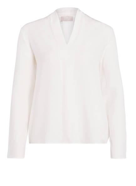 Mrs & HUGS Blusenshirt aus Seide, Farbe: WEISS (Bild 1)