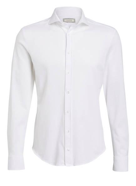 CHAS Piqué-Hemd MONTI Slim Fit, Farbe: WEISS (Bild 1)