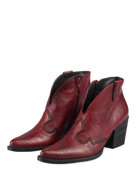 paul green Cowboy Boots, Farbe: ROT (Bild 1)