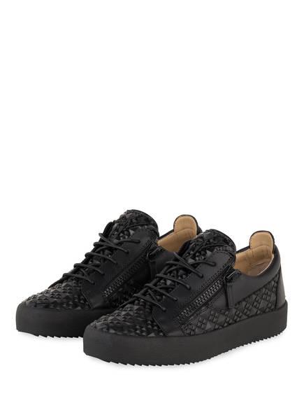 GIUSEPPE ZANOTTI DESIGN Sneaker FRANKIE STUDS, Farbe: SCHWARZ (Bild 1)