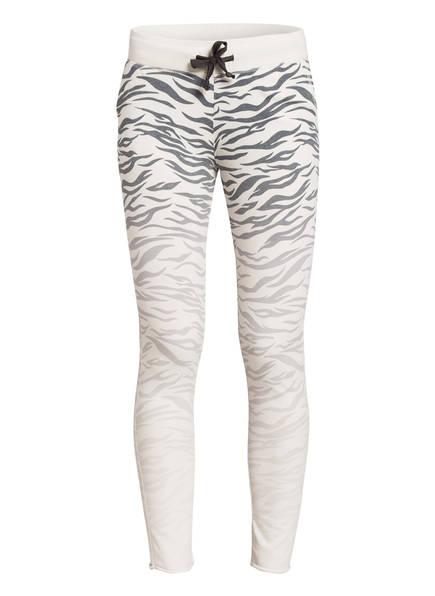 Juvia 7/8-Sweatpants , Farbe: WEISS/ GRAU (Bild 1)