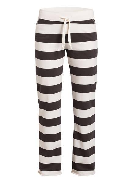 Juvia Sweatpants , Farbe: WEISS/ GRAU GESTREIFT (Bild 1)