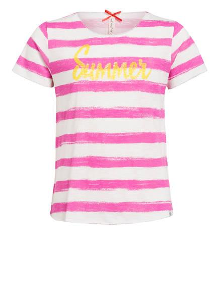 KEY LARGO T-Shirt , Farbe: PINK/ WEISS (Bild 1)