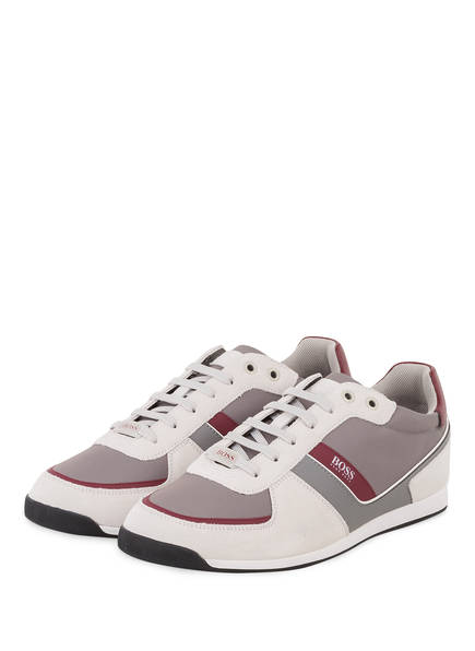 BOSS Sneaker GLAZE, Farbe: GRAU/ CREME (Bild 1)