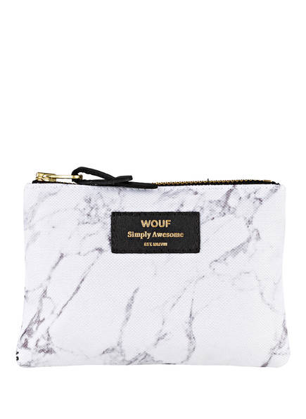 WOUF Pouch MARBLE, Farbe: WEISS (Bild 1)