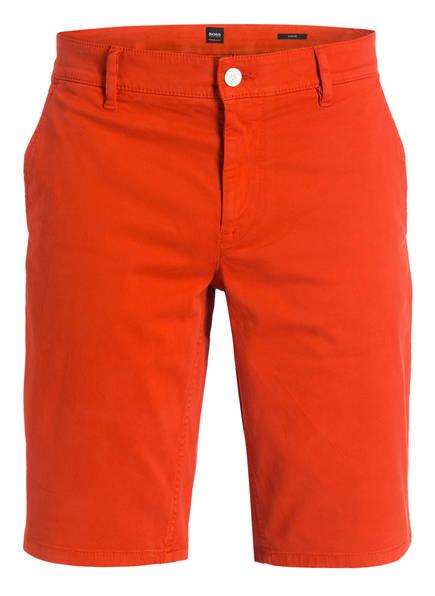 BOSS Chino-Shorts SCHINO Slim Fit, Farbe: ORANGE (Bild 1)